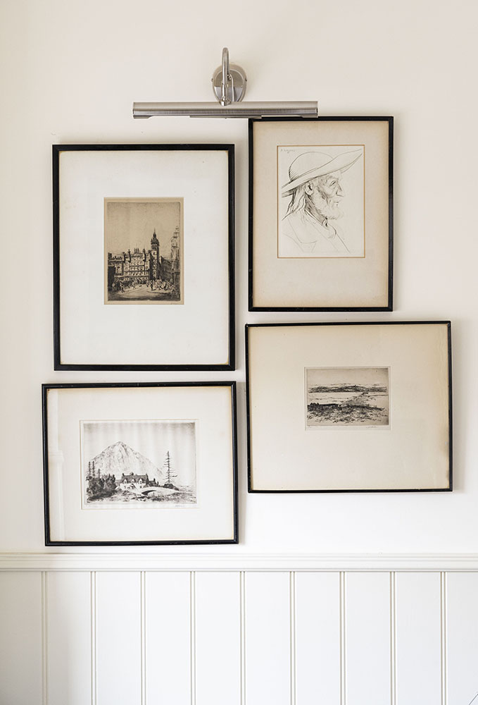 Art works in our Croft House Serviced Apartment in Inverness
