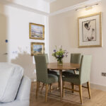 The Courtyard Apartment, dining area, accessible accommodation Inverness