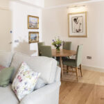 Our Courtyard Apartment is an accessible apartment, within Art House Inverness