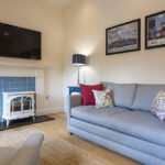 Comfortable living room in our Loch Ness Serviced Apartment Inverness