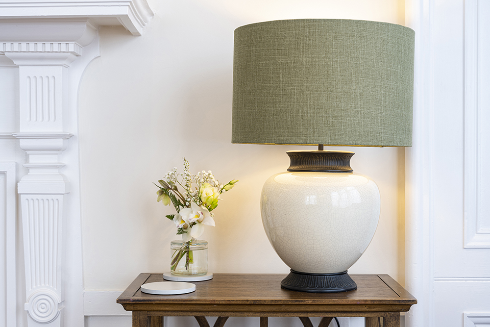 Scottish Thistle decorative lamp in our Inverenss serviced apartments