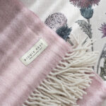 Soft furnishings in our Scottish Thistle serviced apartment
