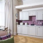 Kitchen in Scottish Thistle, Art House Serviced Accommodation Inverenss