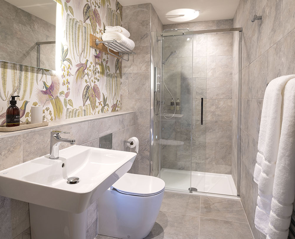 Shower Room, Scottish Thistle , Art House Serviced Apartments Inverness