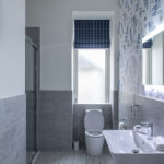 Modern Shower Room in our Running Hare Apartment, Inverness