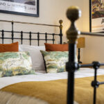 Super King Bed in our Runnning Hare Apartment Inverness