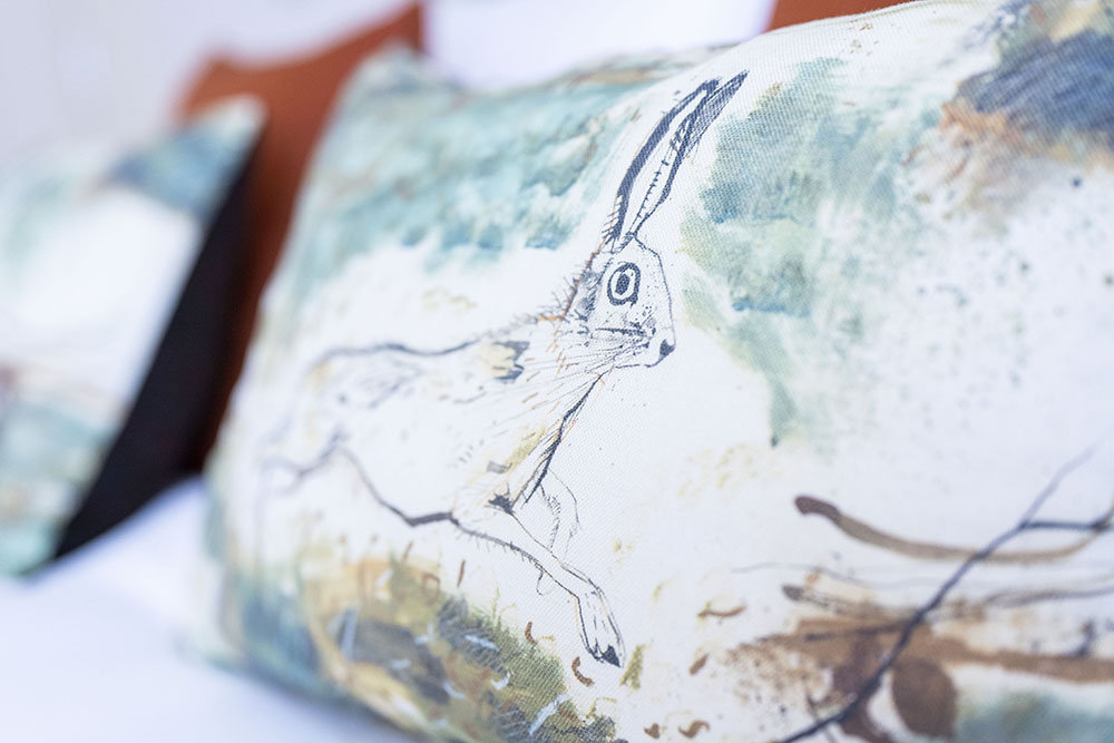 Decorative touches in our Running Hare Serviced Apartment Inverness