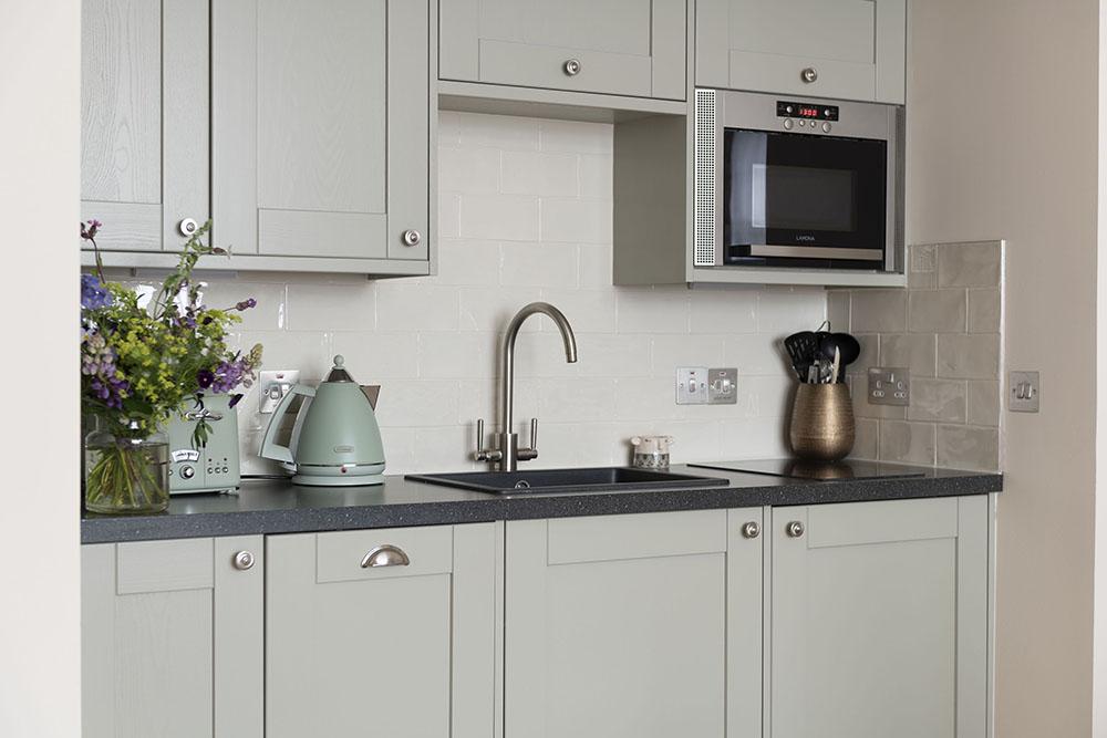 Kitchen in Running Hare, Studio Apartment, Inverness