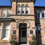 Entrance to Art House Serviced Apartments in Inverness