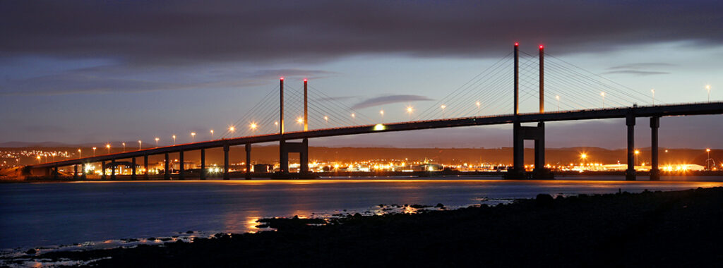 Kessock Bridge over the Beauly Firth, Inverness