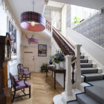 The Staircase at Art House Serviced Apartments in Inverness