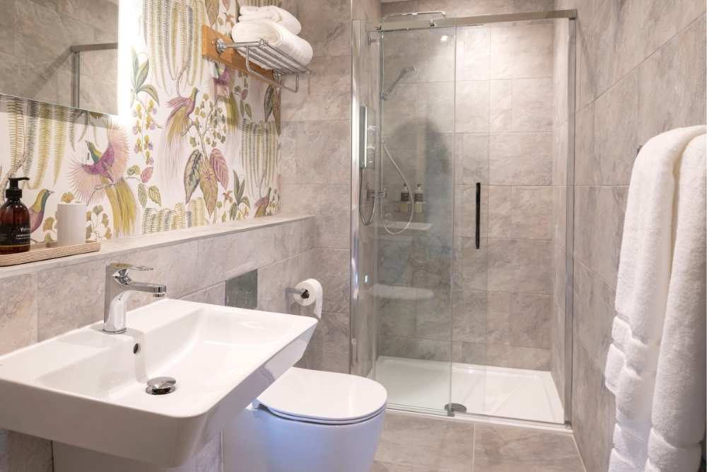 Shower Room in one of our luxury serviced apartments in Inverness