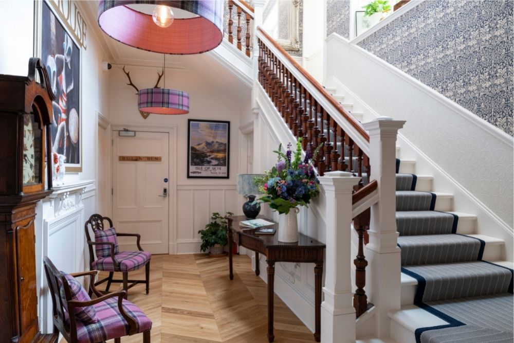 Art House Serviced Apartments Inverness Stair Case